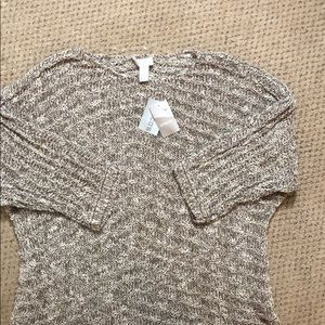 NWT Chico's knit top/ sweater